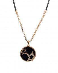 "Halskette ""Stars Black"""