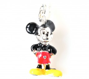 "Charms Anhänger ""Micky Maus"""