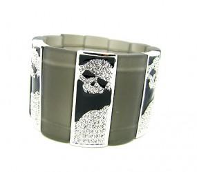 """Armband """"Acrylic Skull"""""""