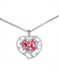 "Halskette ""Pink Heart"""