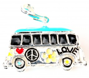 "Charms Anhänger ""Hippie Bus"""